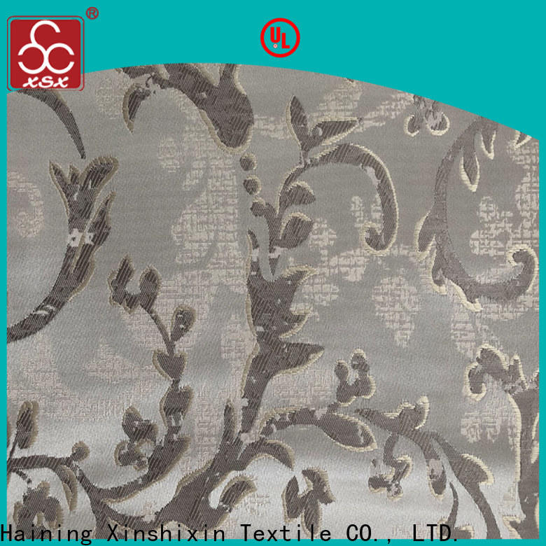 XSX t19061a 100 polyester fabric wholesale company for Furniture
