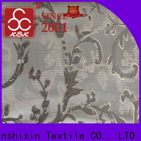 XSX latest bedding fabrics wholesale supply for Sofa