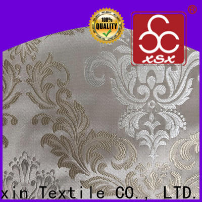 XSX classic 100 percent polyester fabric supply for Hotel