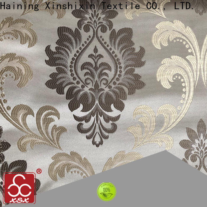 grey and white curtain fabric delicate for Furniture