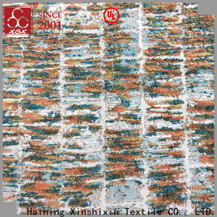 XSX yarns 100 polyester fabric by the yard suppliers for Bedding
