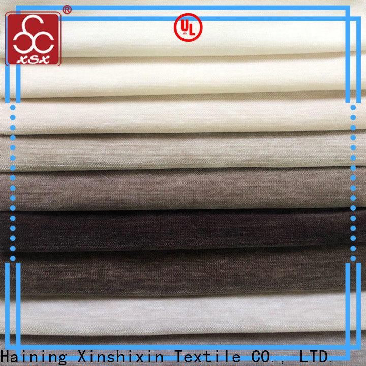 XSX wholesale sofa furnishing fabric for Furniture