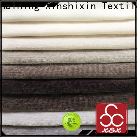 XSX high-quality plain curtain fabric suppliers for Bedding