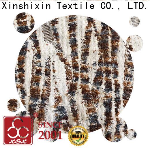 XSX velvet upholstery fabric for business for Cushion Cover