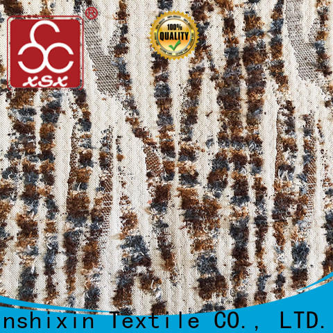 XSX top cushion upholstery fabric manufacturers for Home Textile