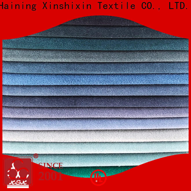 XSX top discount upholstery fabric manufacturers for Home Textile