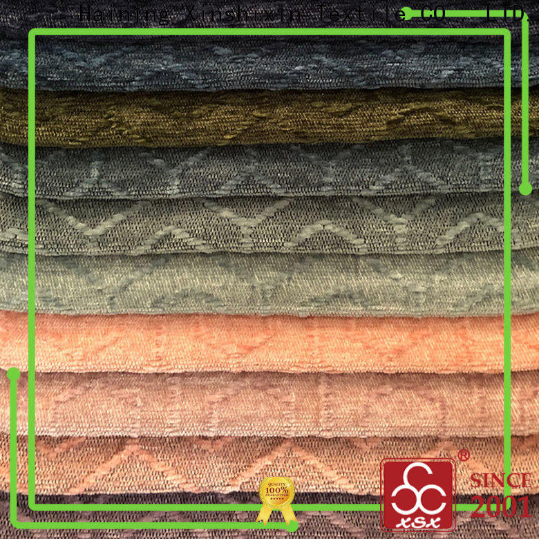 XSX mazeshaped plaid upholstery fabric for business for Home Textile