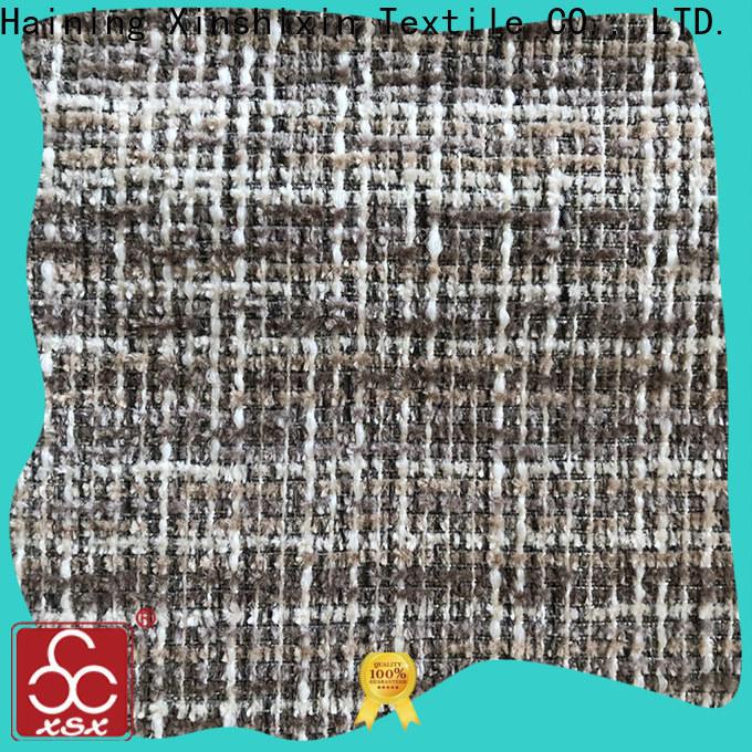 XSX feather interior design fabric supply for Sofa