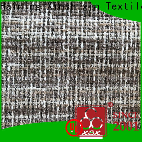 custom cotton upholstery fabric h19032a supply for Sofa