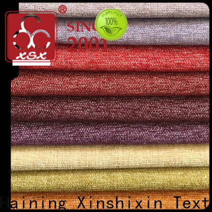 XSX custom gray and white upholstery fabric factory for Bedding