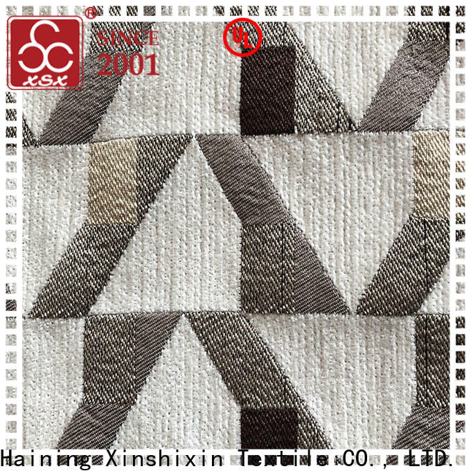 XSX ribbed chenille fabric factory for Home Textile