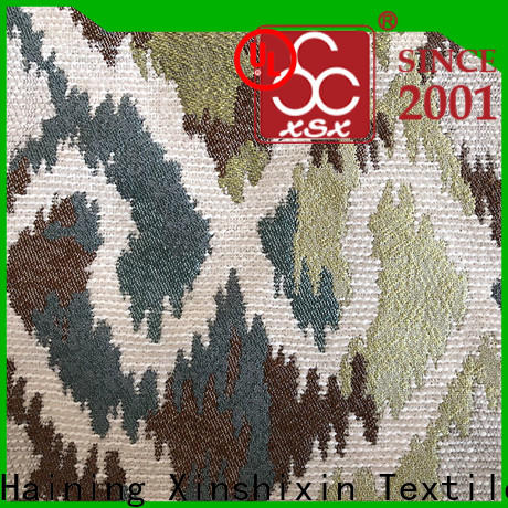 XSX high-quality drapery fabric with birds for business for Home Textile