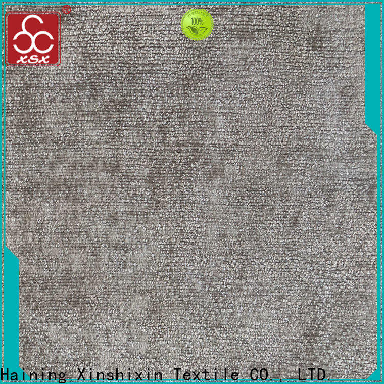 XSX cushion fabric suppliers for Bedding