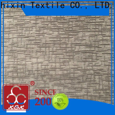 XSX classic black polyester fabric supply for Furniture