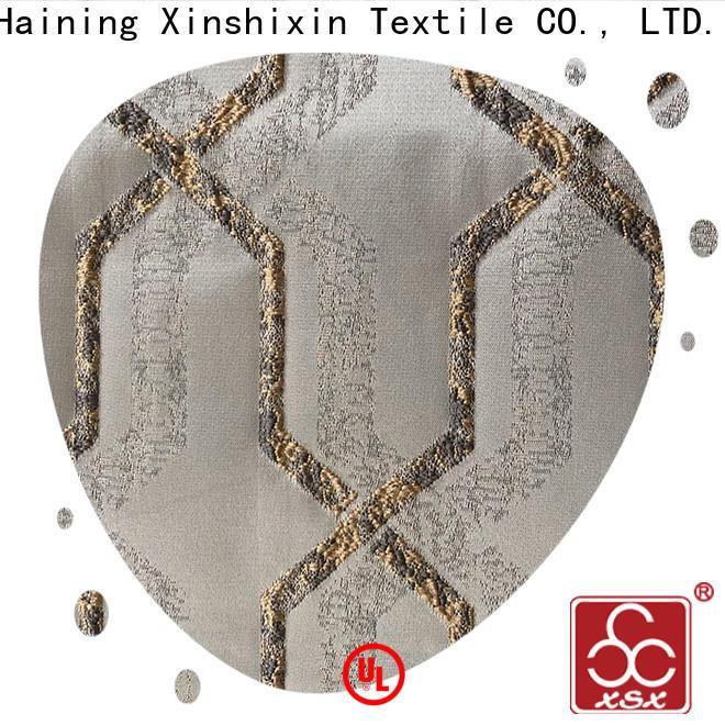 custom jacquard textile floral for Furniture