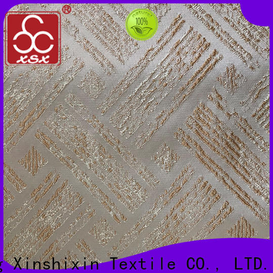 XSX soft modern furnishing fabrics manufacturers for Hotel