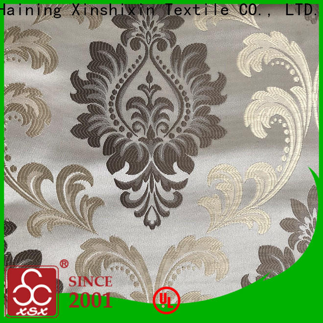 XSX latest light gray upholstery fabric manufacturers for Hotel