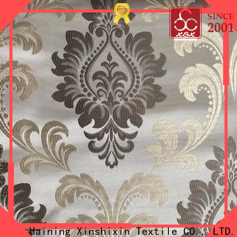 XSX exclusive sofa fabric supplier for Hotel