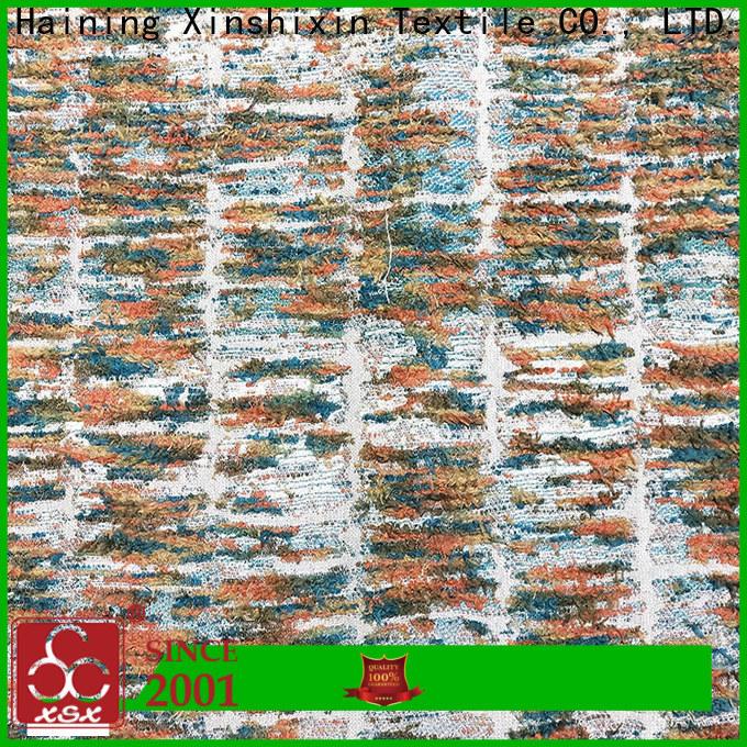 XSX latest geometric fabric manufacturers for Curtain