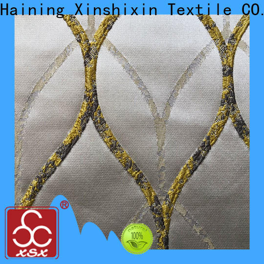 XSX s19057a silk drapery fabric factory for Hotel