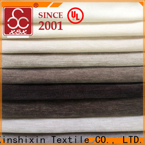 XSX strip cushion fabric suppliers for home-furnishing