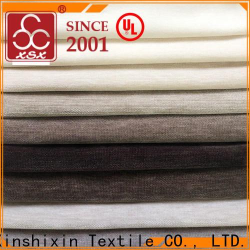 XSX strip cushion fabric suppliers for home-furnishing