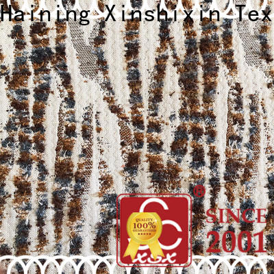 XSX decorative jacquard woven fabric manufacturers for couch