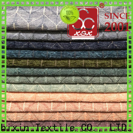 polyester sofa material h19023a for business for Curtain