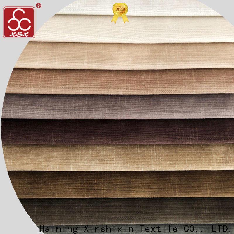 XSX wholesale buy furnishing fabric company for Hotel