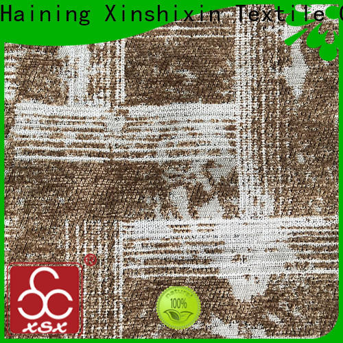 XSX wholesale textile fabric suppliers factory for Sofa