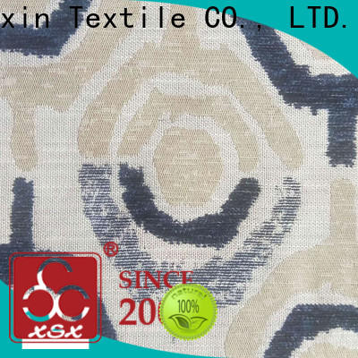 XSX high-quality animal print upholstery fabric chenille factory for Furniture