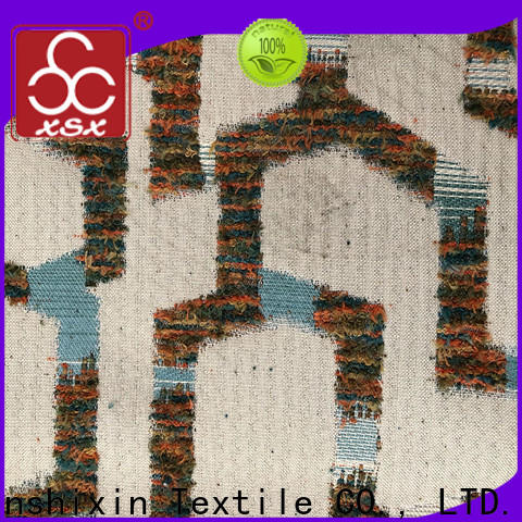 XSX plush chenille fabric for sale for Sofa