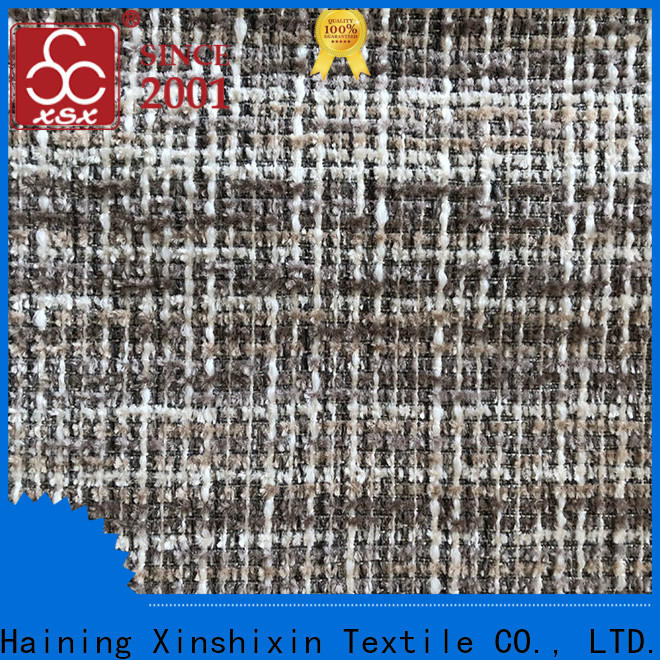 XSX highwarp wholesale polyester fabric suppliers factory for couch