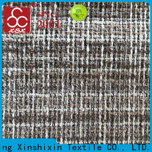 XSX block upholstery fabric for dining chairs for Cushion Cover