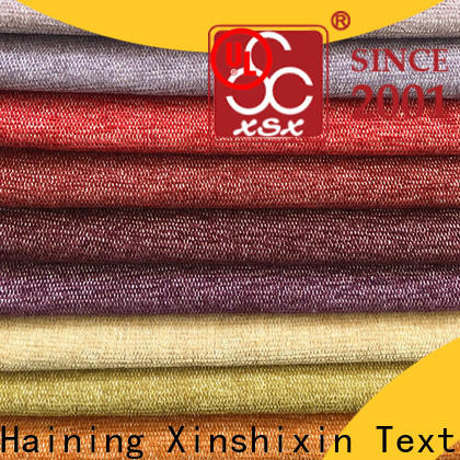 XSX knitting gingham upholstery fabric manufacturers for home-furnishing