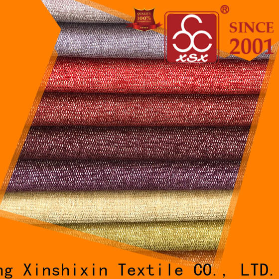 XSX textured curtain fabric supply for Sofa