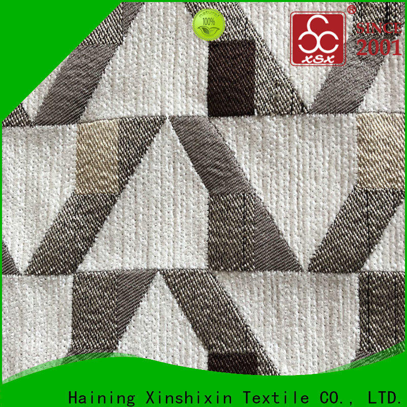 XSX shining indoor outdoor upholstery fabric for business for Curtain
