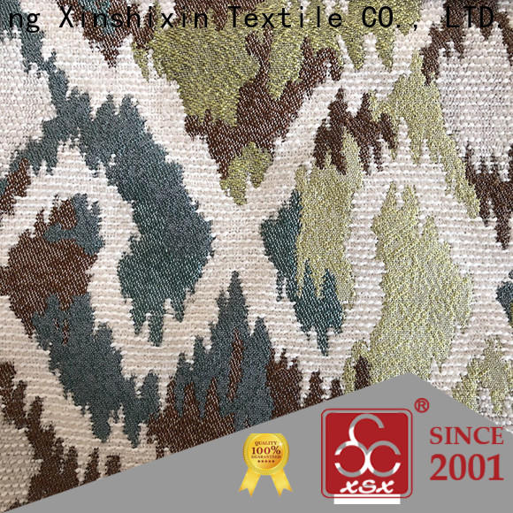 XSX custom 100 cotton chenille fabric for business for Home Textile