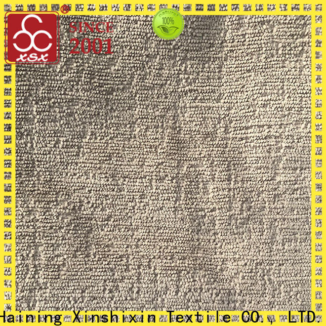 XSX latest gold chenille for business for home-furnishing