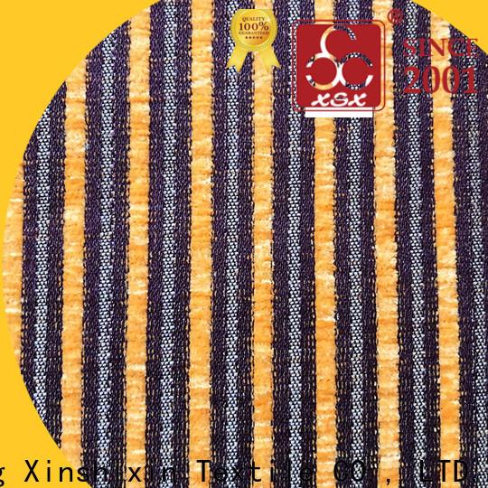 XSX stripe kid friendly sofa material suppliers for Cushion Cover