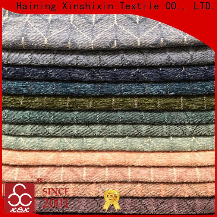 XSX wholesale upholstery fabric for dining chairs for Cushion Cover