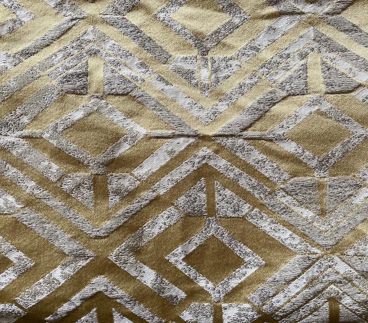 High Density Drapery Fabric Woven Jacquard Wholesale H19052A