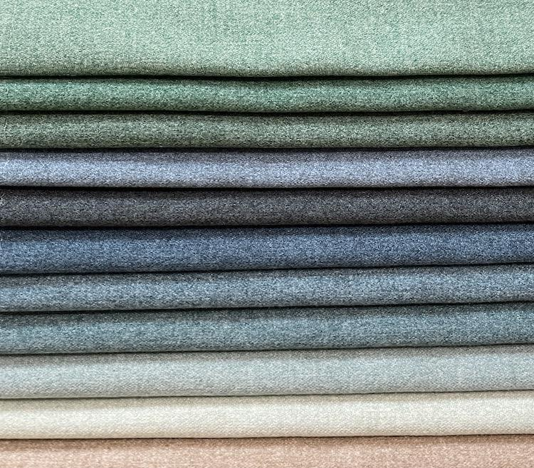 100% Polyester Knitted Velvet Sofa Fabric for Home Upholstery WD20031A