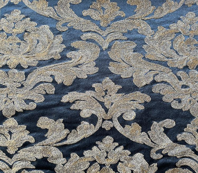 Upholstery High Density Warping Fabric Woven Curtain Fabric Wholesale H19046A