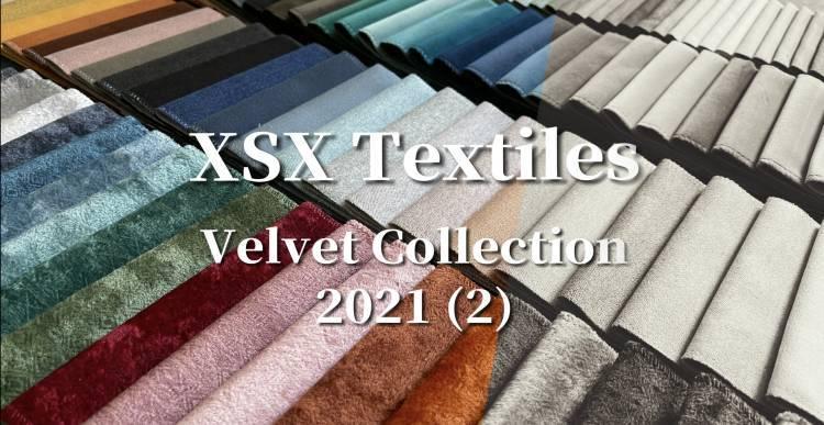 XSX Textiles 2021 New Collection (2) - Velvet Fabric