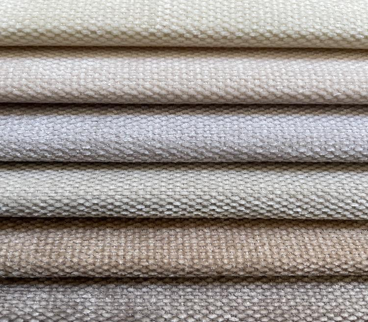 Stunning Chenille Fabric for Sofa Wholesale Woven Jacquard Fabric WD20055A