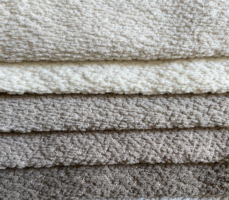 Custom Modern Boucle Chenille Fabric for Sofa Wholesale LT20001A