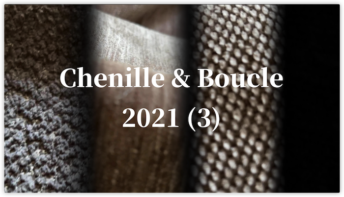 XSX Textiles 2021 New Collection (3) - Chenille & Boucle Fabric