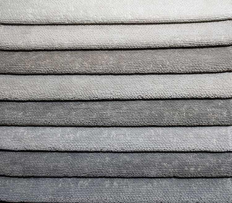 Soft Plain Chenille Woven Fabric Upholstery Sofa cusion Fabric Wholesale LT21020A