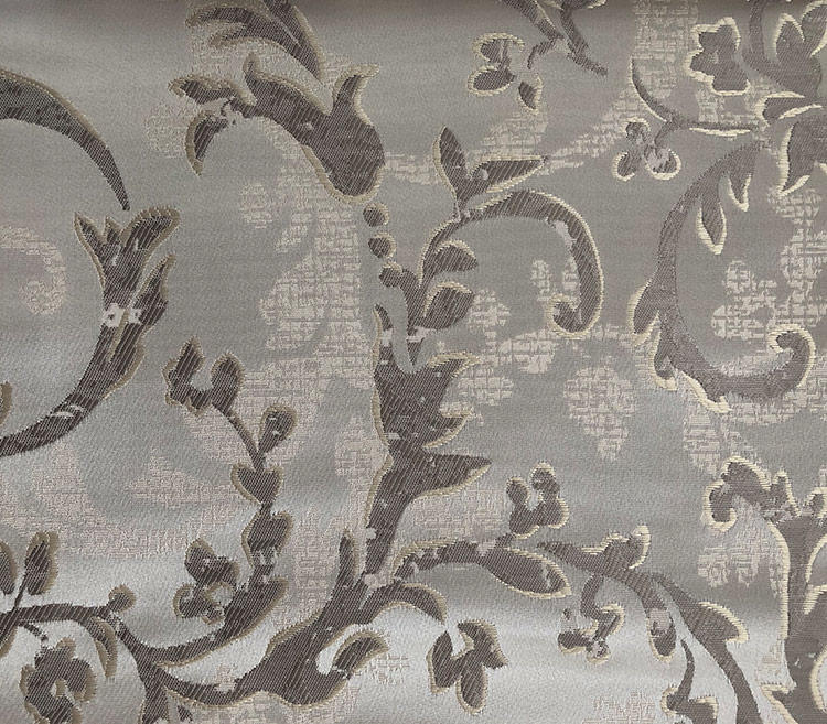 Distinctive Decorative Jacquard Fabric with a Lush Drape Home Textile Drapery Fabric Wholesale H19032A